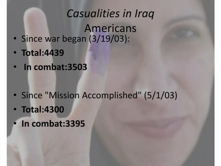 Casualities