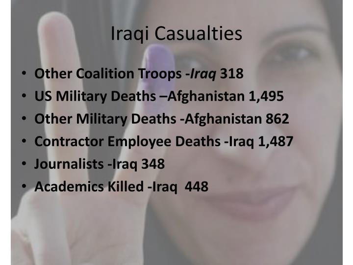 Iraqi Casualties
