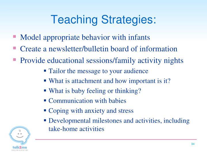 Teaching Strategies:
