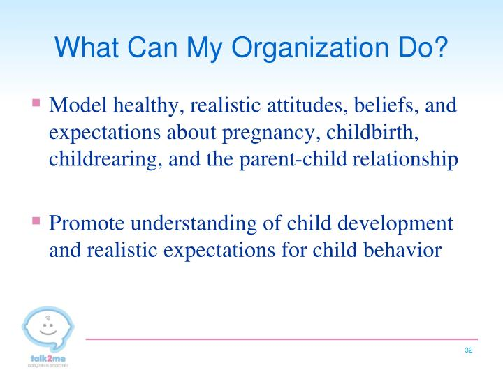 What Can My Organization Do?