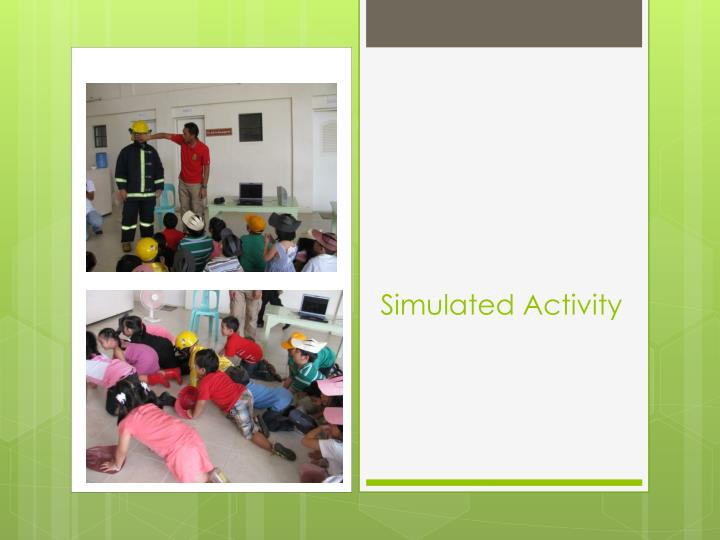 Simulated Activity
