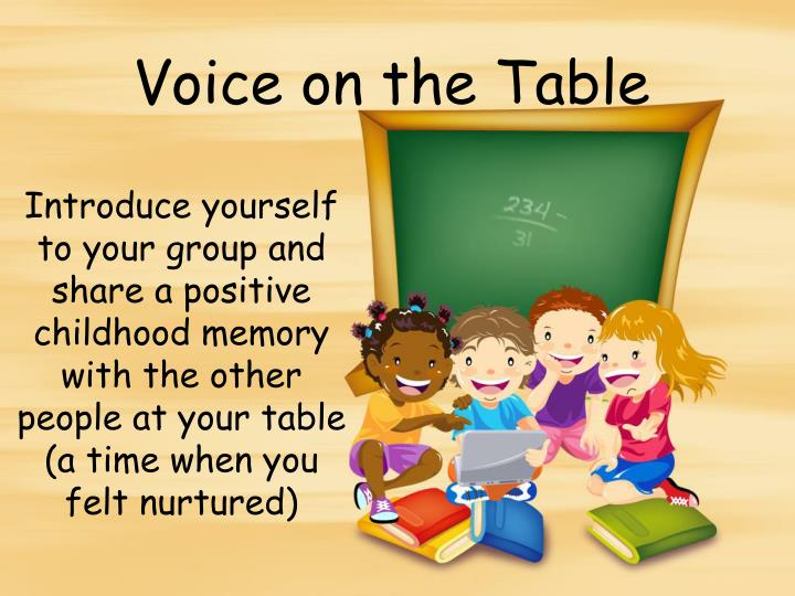 Voice on the Table