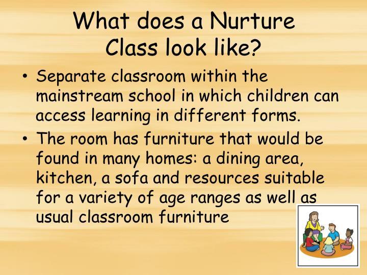 What does a Nurture