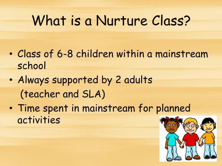 What is a Nurture Class?