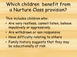 which children benefit from a nurture class provision1