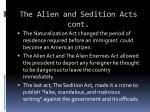 the alien and sedition acts cont