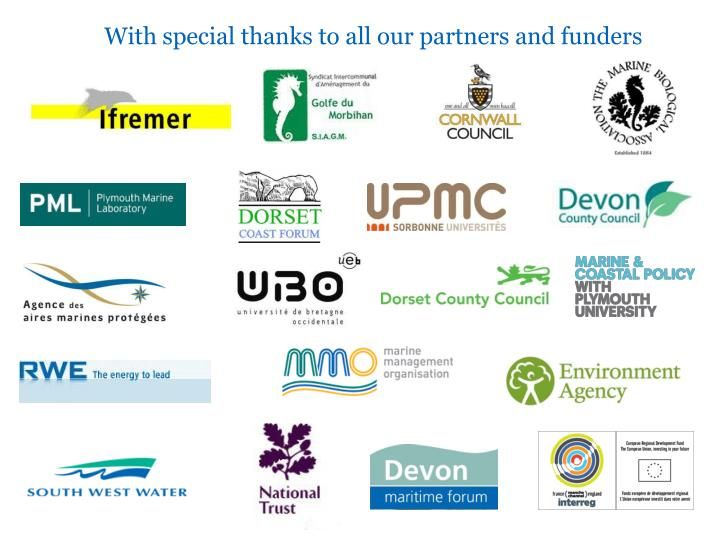 With special thanks to all our partners and funders