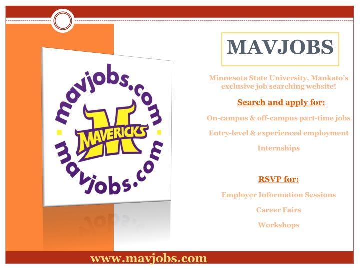 Minnesota State University, Mankato's exclusive job searching website!