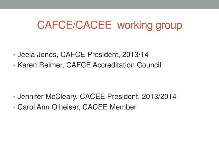 CAFCE/CACEE