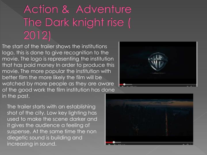 Action adventure the dark knight rise 20121