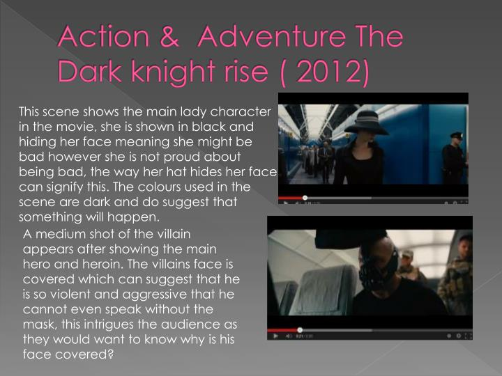 Action &  Adventure The Dark knight rise ( 2012)