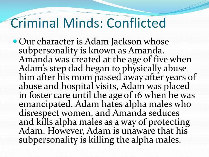 Criminal Minds: Conflicted
