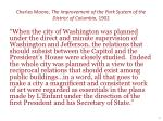 charles moore the improvement of the park system of the district of columbia 1902
