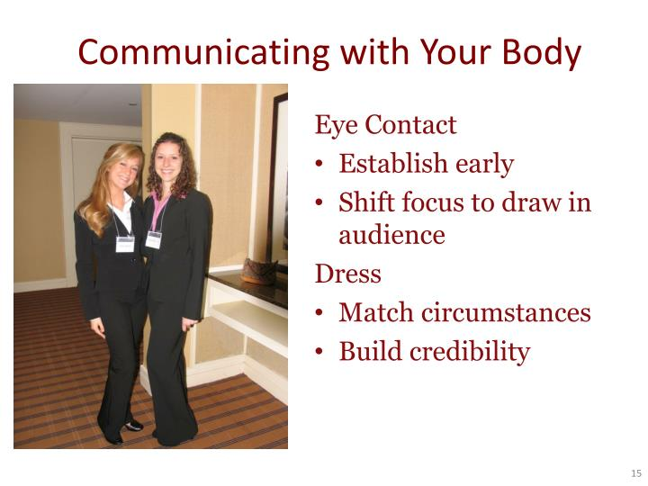 Communicating with Your Body