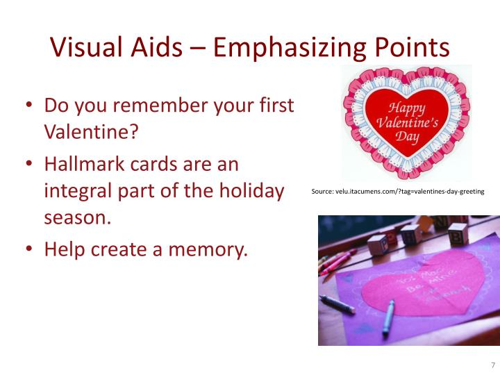 Visual Aids – Emphasizing Points