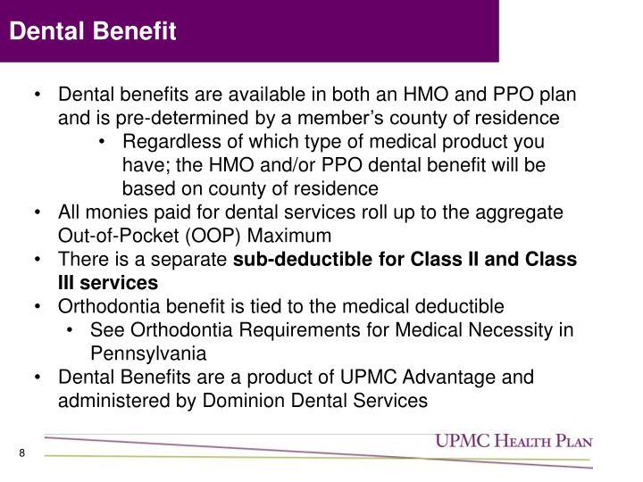 Dental Benefit