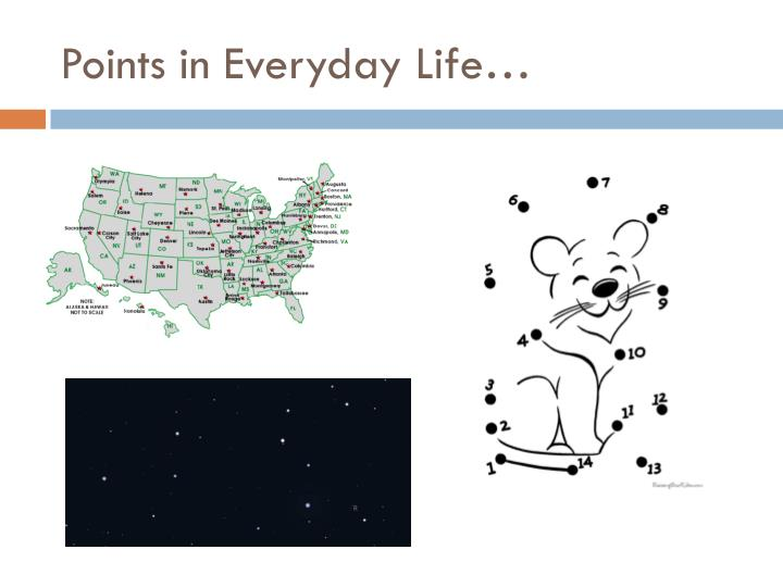 Points in Everyday Life…