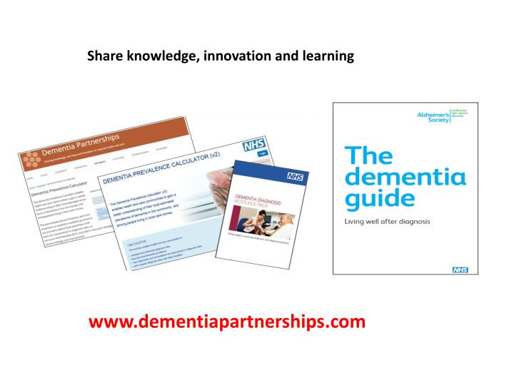 Share knowledge, innovation and learning