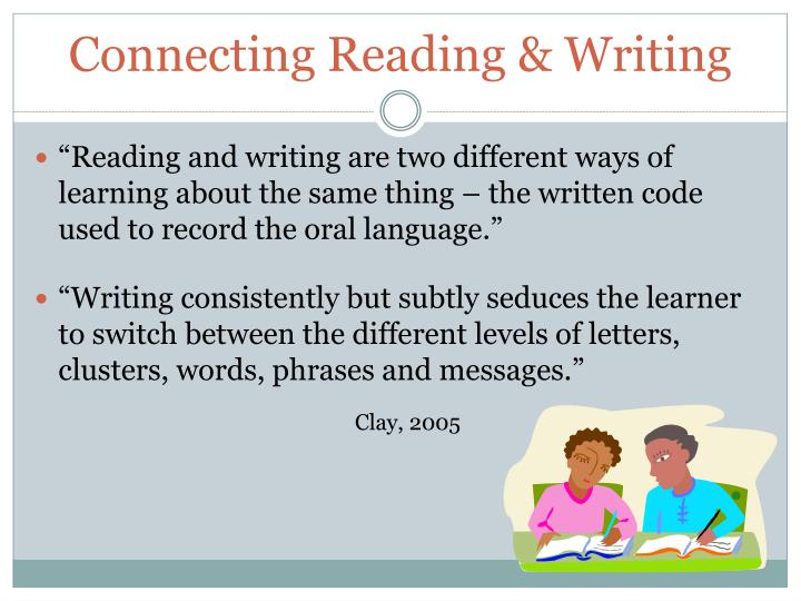 Connecting Reading & Writing