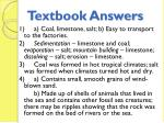 textbook answers