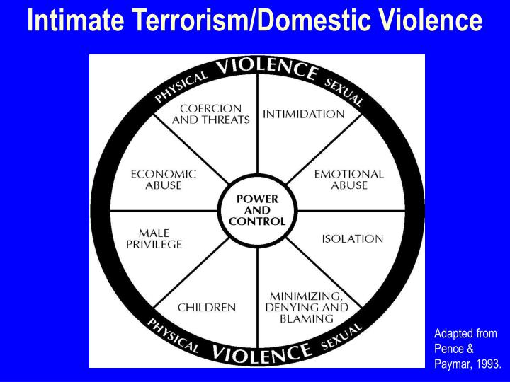 Intimate Terrorism/Domestic Violence
