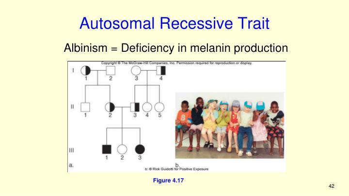 Autosomal Recessive Trait