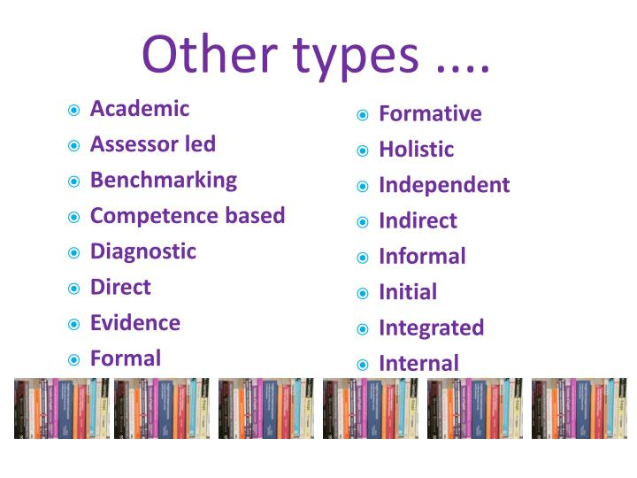 Other types ....