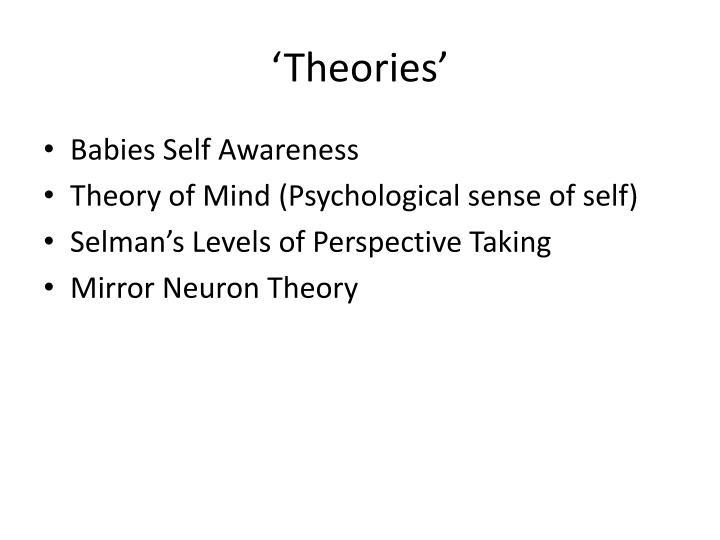 'Theories'