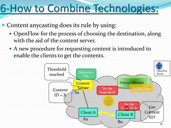 6-How to Combine Technologies: