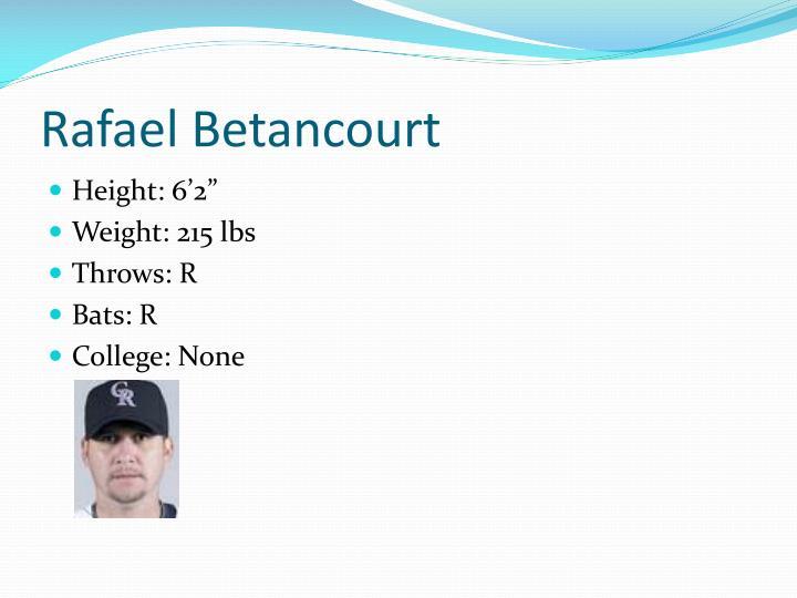 Rafael Betancourt