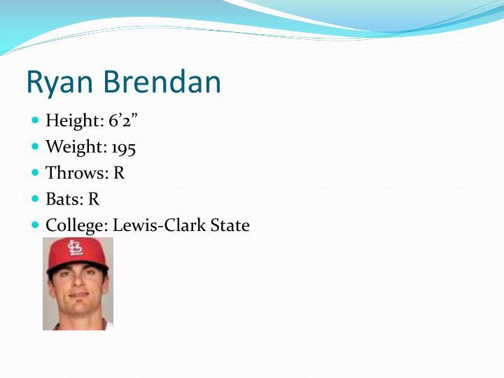 Ryan Brendan