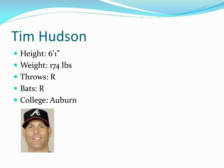 Tim Hudson
