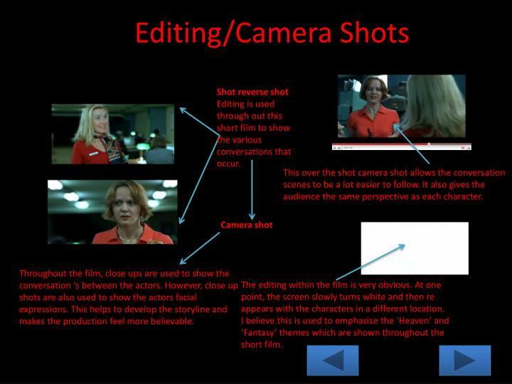 Editing/Camera Shots