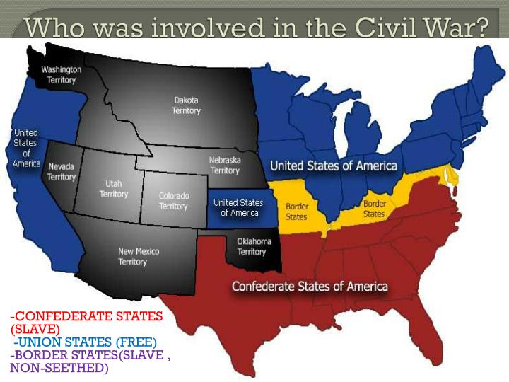 Who was involved in the Civil War?