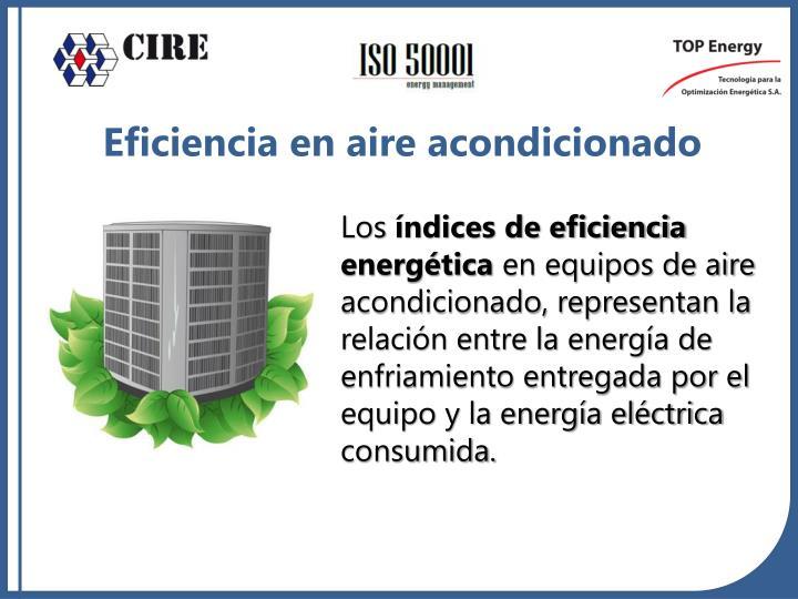 Eficiencia en aire acondicionado