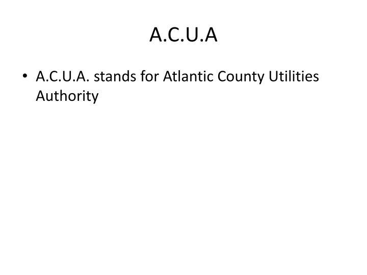 A.C.U.A