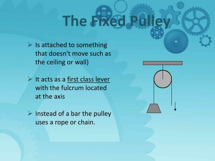 The Fixed Pulley