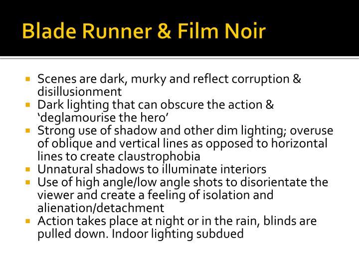 Blade Runner & Film Noir