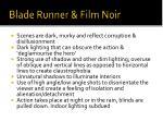 blade runner film noir