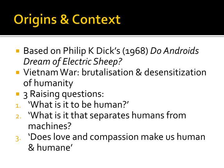 Origins & Context
