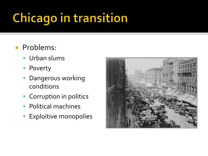 Chicago in transition