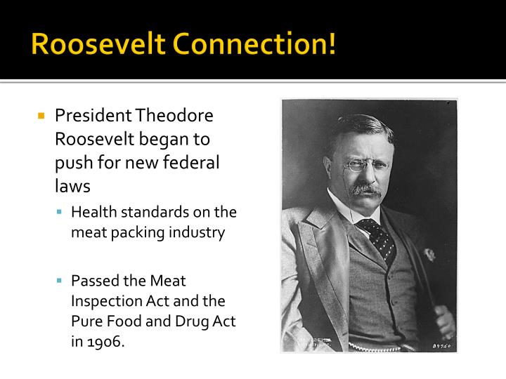 Roosevelt Connection!