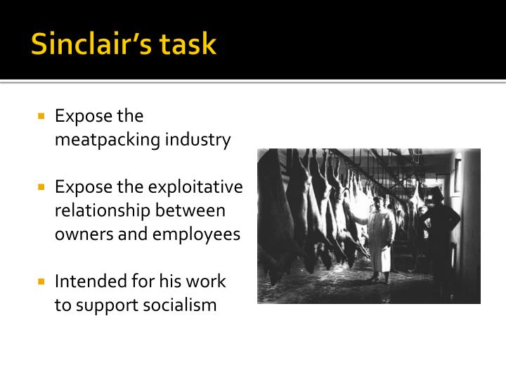 Sinclair's task