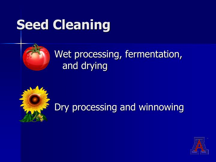 Seed Cleaning