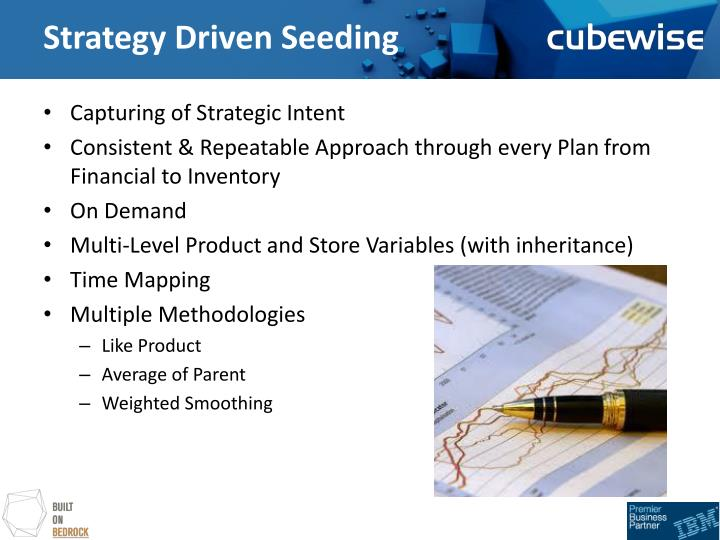Strategy driven seeding1