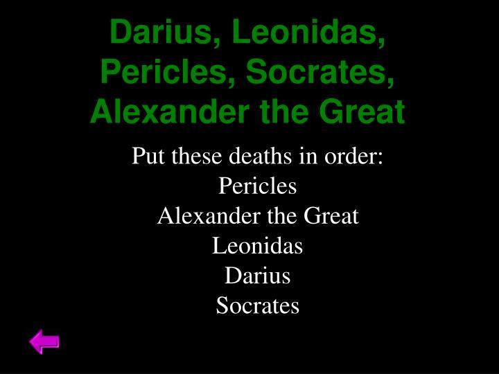 Darius,