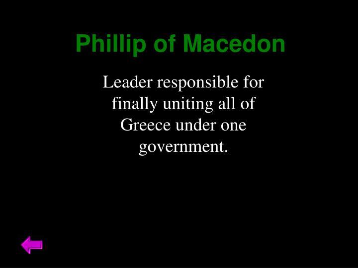 Phillip of Macedon