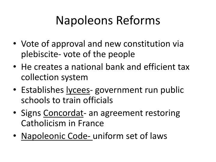 Napoleons Reforms