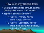 how is energy transmitted
