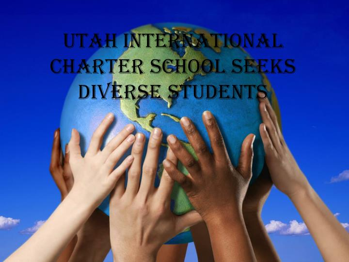 Utah international charter school seeks diverse students
